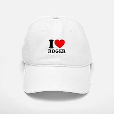 I (Heart) Roger Baseball Baseball Cap