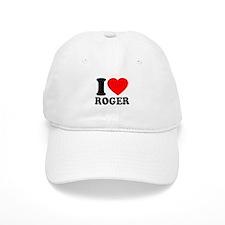 I (Heart) Roger Baseball Cap