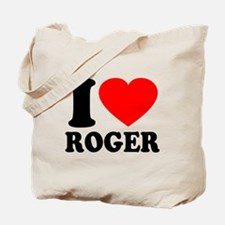 I (Heart) Roger Tote Bag