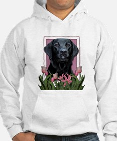Mothers Day - Pink Tulips Hoodie