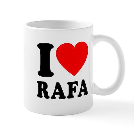 I (Heart) Rafa Mug