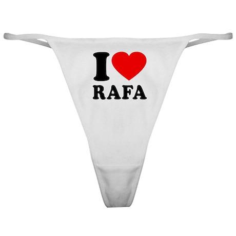 I (Heart) Rafa Classic Thong