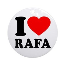I (Heart) Rafa Ornament (Round)