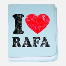 I (Heart) Rafa baby blanket