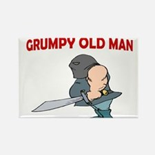 REALLY GRUMPY Rectangle Magnet (10 pack)
