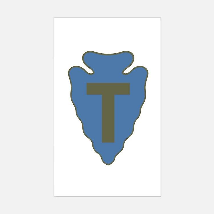 Arrowhead Sticker (Rectangle)