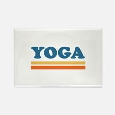 yoga Rectangle Magnet