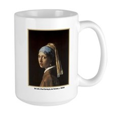 Vermeer Girl with Pearl Earring Mug
