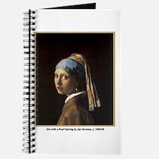 Vermeer Girl with Pearl Earring Journal