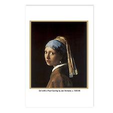Vermeer Girl with Pearl Earring Postcards (Package