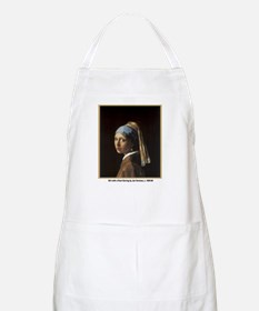 Vermeer Girl with Pearl Earring BBQ Apron