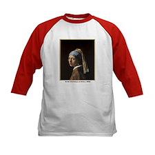 Vermeer Girl Pearl Earring (Front) Tee