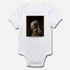 Vermeer Girl with Pearl Earring Infant Creeper