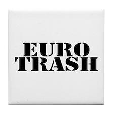 Euro Trash Tile Coaster