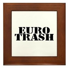 Euro Trash Framed Tile