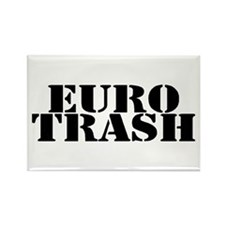 Euro Trash Rectangle Magnet (100 pack)