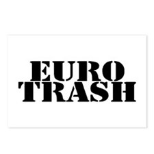 Euro Trash Postcards (Package of 8)