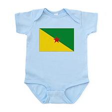 Guiana Flag Infant Bodysuit