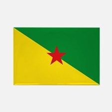 Guiana Flag Rectangle Magnet