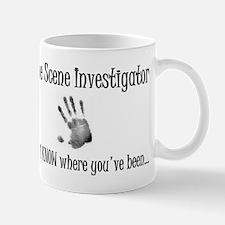 Crime Scene (handprint) Mug