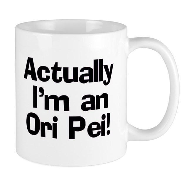 Actually I'm An Ori Pei Mug by out_and_about