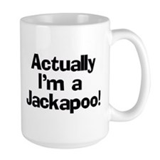 Actually I'm A Jackapoo Mug