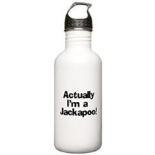 Actually I'm A Jackapoo Water Bottle