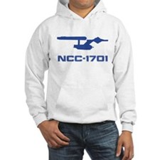 NCC-1701 Silhouette Hoodie