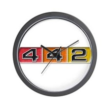 Oldsmobile 442 Wall Clock