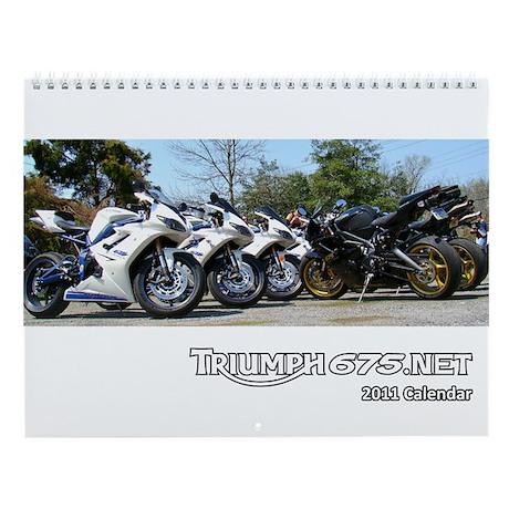 2011 Triumph675.Net Wall Calendar