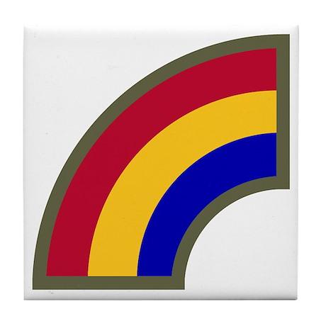 Rainbow Tile Coaster