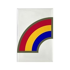Rainbow Rectangle Magnet