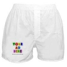 """Ads for Men"" Boxer Shorts"