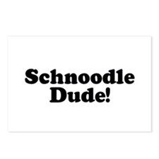Schnoodle Dude Postcards (Package of 8)