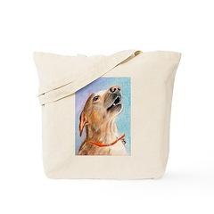 SINGING DOG Tote Bag