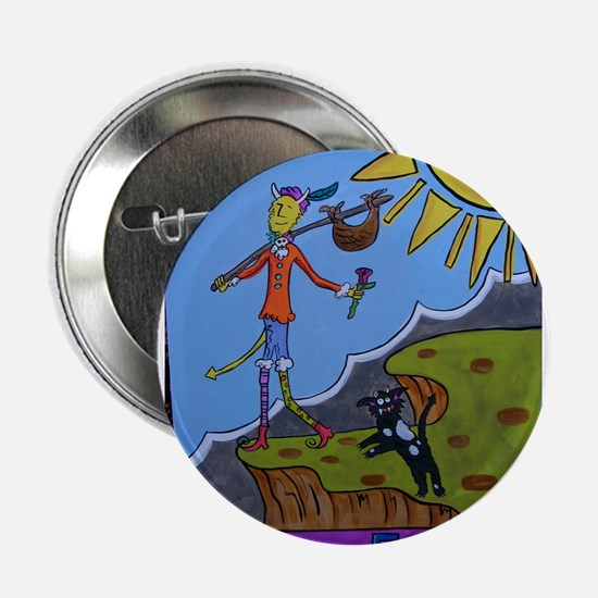 "The Fool 2.25"" Button"