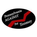 Pennsylvania Against Pat Toomey sticker