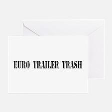 Euro Tailer Trash Greeting Cards (Pk of 10)