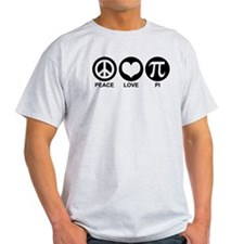 Peace Love Pi T-Shirt