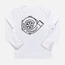 Funny Turbo Long Sleeve Infant T-Shirt