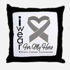 Ribbon Awareness Throw Pillow
