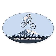 Ride, Bellingham, Ride! Decal