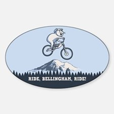 Ride, Bellingham, Ride! Sticker (Oval)