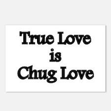 True Love Chug Love Postcards (Package of 8)