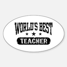 World's Best Teacher Decal