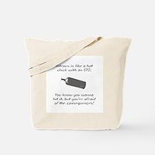 Nitrous Tote Bag