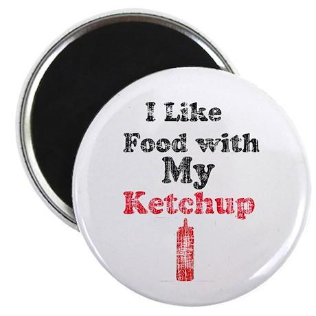 Vintage Ketchup Humor 1 Magnet
