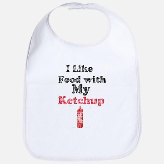 Vintage Ketchup Humor 1 Bib