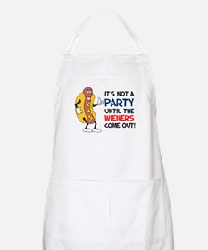 Not A Party Until Wieners Apron