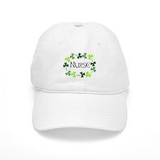 Nurse Shamrock Oval Baseball Cap
